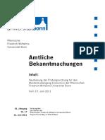 Nr 17 - 21062011 Masterstudiengang Economics Neufassung Der Prüfungsordnung