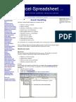 Excel VBA - Free Online Reference Guide (Event Handling)