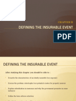 Chapter 2 - Defining the insurable event