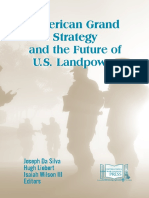 American Grand Strategy and the Future of U.S. Landpower