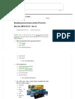 Banking Awareness Practice Set 21