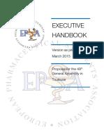 executive handbook proposal march 15  1
