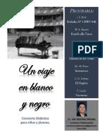 Un Viaje en Blanco y Negro-cartel