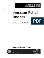 ASME PTC-25 PRD Performance Test Codes - ToC