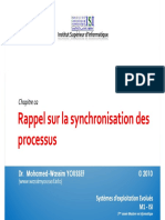 Ch02 - Rappel Synchronisation Des Processus
