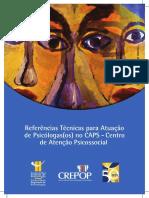 Referências técnicas para atuação dos psicólogos nos Caps