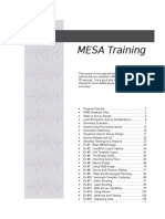 Mesa Training Manual