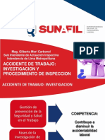 """Presentación del Seminario """"Accidente de Trabajo Investigacion y Procedimiento de Inspección"""""""