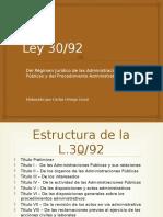 Ley 30-92