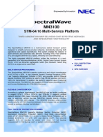 MN3100 Brochure Issue1.3 MAR08