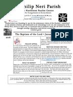 January 10 Bulletin