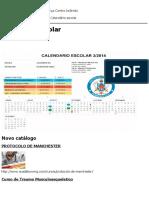 Calendário Escolar __ ACADEBOM-MG