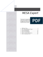 Mesa Expert Training Manual Expert