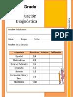6to Grado - Diagnóstico primaria