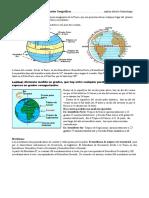 Paralelos y Meridianos, Coordenadas Geográficas