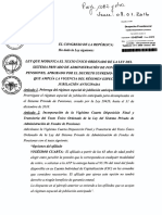 CONGRESO DE LA REPÚBLICA APRUEBA DICTAMEN DE LA COMISIÓN DE ECONOMÍA RECAÍDO SOBRE PROYECTO DE LEY N° 3550 DE AUTORÍA DE ELIAS RODRIGUEZ ZAVALETA Y OTROS CONGRESISTAS DE LA REPÚBLICA QUE APRUEBA LA IMPRESCRIPTIBILIDAD DE LAS PRETENSIONES QUE BUSCAN RECUPERAR LOS APORTES EFECTIVAMENTE DESCONTADOS A LOS TRABAJADORES Y NO ABONADO O DEPOSITADOS POR EL EMPLEADOR EN FORMA OPORTUNA A LA AFP Y LA LIBRE DISPONIBILIDAD DEL DINERO DE SU CUENTA INDIVIDUAL DE CAPITALIZACIÓN.