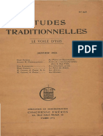 Etudes Traditionnelles v41 n193 1936 Jan