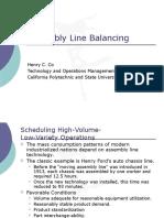 04 Assembly Line Balancing