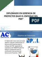 Presentación CURSO PMI
