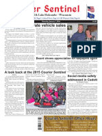 Courier Sentinel January 7, 2016
