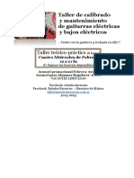 PDF Taller de Calibrado y Restauración de Guitarras