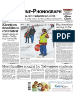 January 6, 2016 Tribune-Phonograph
