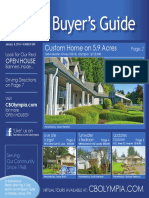 Coldwell Banker Olympia Real Estate Buyers Guide January 9th 2016