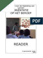 4e Versie Reader OB Reader 2015-16