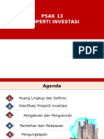 PSAK 13 Properti Investasi