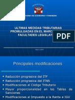Modificaciones Rta MODIFICACIONES RTA-IGV.pptIgv