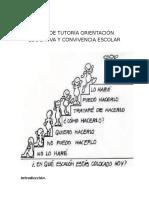 TUTORÍA, ORIENTACIÓN EDUCATIVA Y CONVIVENCIA EDUCATIVA