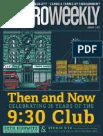 Metro Weekly - 01-07-16 - Seth Hurwitz - 930 Club Issue