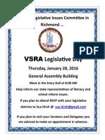 vsra legislative day 2016 jan 28
