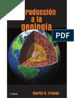 IntroducciA3n a La GeologAa - Iriondo, MartAn Horacio(Author) Copy
