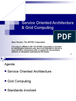 Service Orienter Architecture and Grid Computing