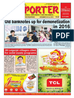 Bikol Reporter December 20 - 26, 2015 Issue