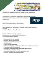 Multinivel Tiens Venta directa de productos Marketing de Red de Afiliados Info - 3188441900