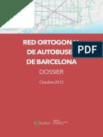 RED ORTOGONAL DE AUTOBUSES EN BARCELONA
