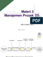 Manajemen Proyek 3_2015