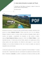 Revista Arquitetura e Construção - Casa de Campo Com Vista Deslumbrante é Projeto de Paulo Mendes Da Rocha