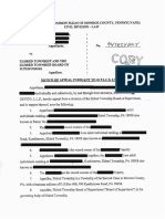 Citizens v. Eldred Twp Redacted Water Extraction
