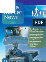 Single Market News - New Directive on Defence Procurement - 2009 1