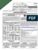 Diario Oficial El Peruano, Edición 9201. 06 de enero de 2016