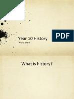 year 10 historical skills