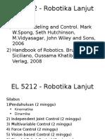 EL 5212 - Robotika Lanjut Kuliah Perdana