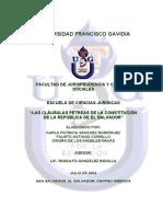Tesis_Cláusulas Petreas Constitución (2004)