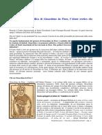 Pandolfi-La Potenza Immaginifica Di Gioacchino Da Fiore. (Entrevista Con Giuseppe Riccardo Sucurro)