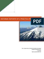 Informe Reporte N°1 Practica Dendrocronología