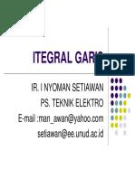 Integral Garis 2
