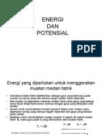 Energi Dan Potensial